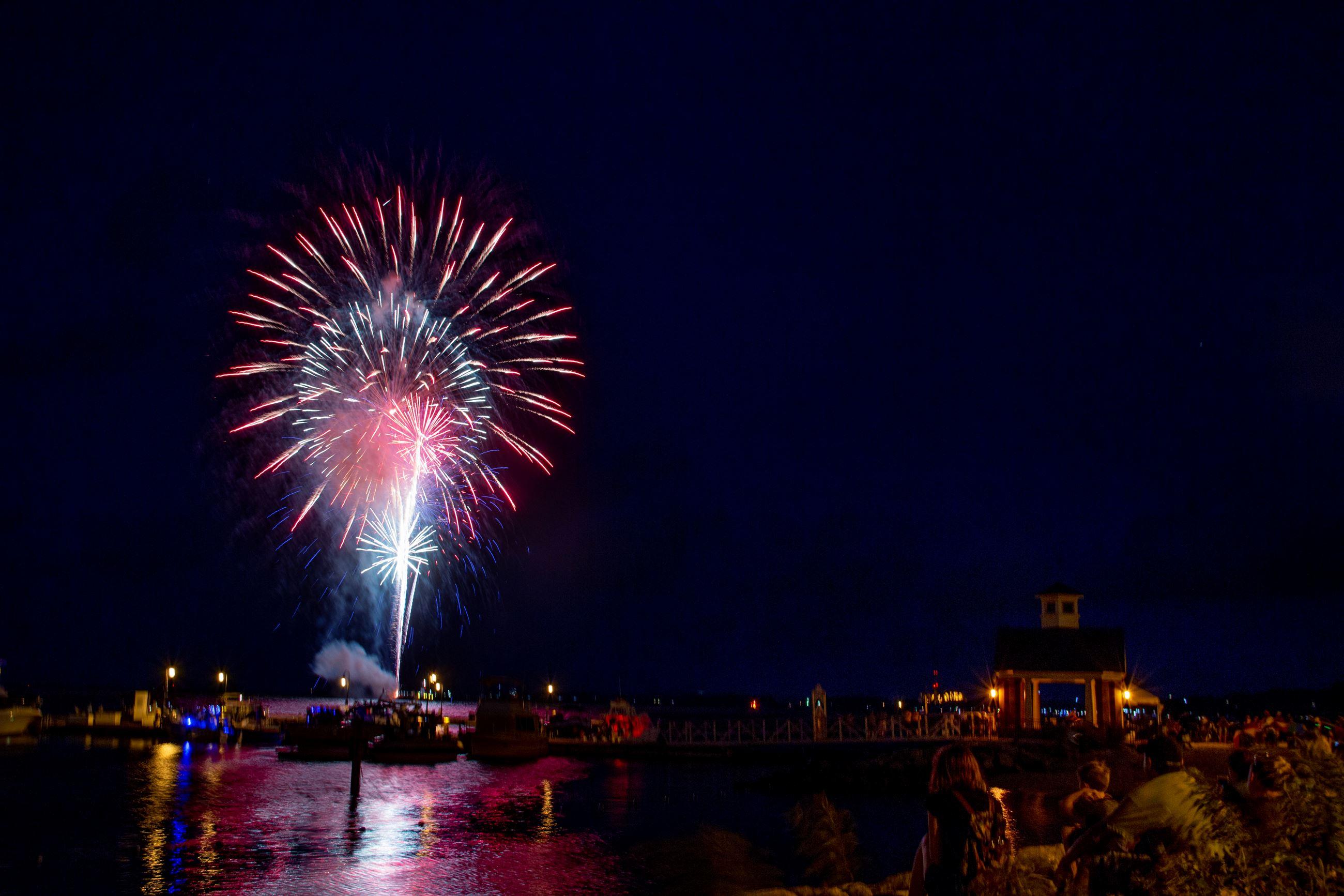 Yorktown Firework