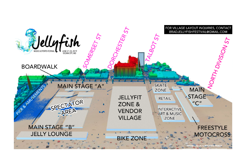Map of Jellyfish Festival