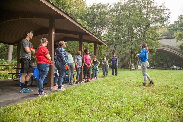 rock creek conservancy, volunteers