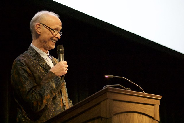 John Waters at Maryland Film Festival
