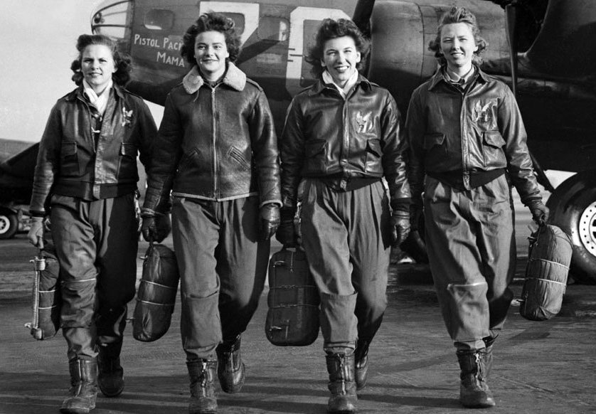 WWII WASP Women Airforce Service Pilots Women Can Fly