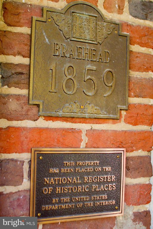 plaque, National Register