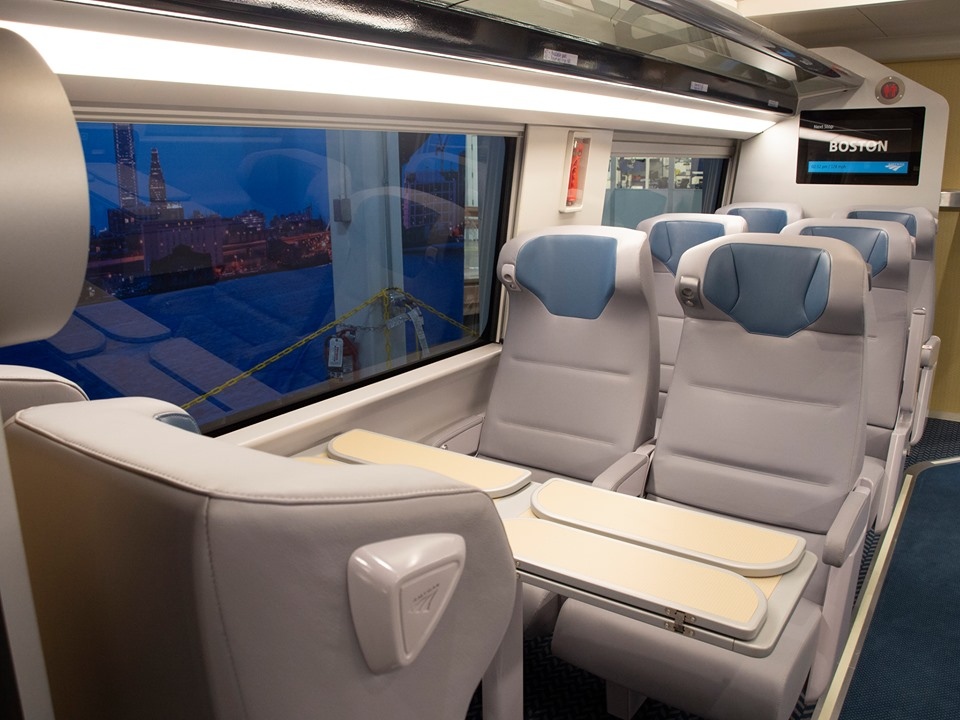 Acela train, Amtrak