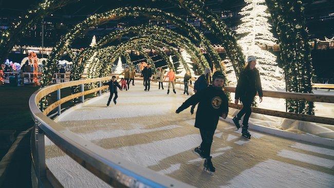 Enchant Christmas Ice Skating Trail