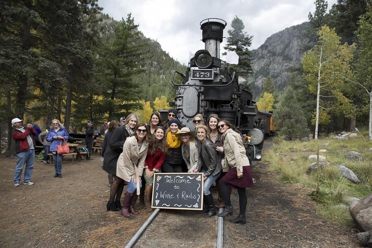 Wine and Rails tour