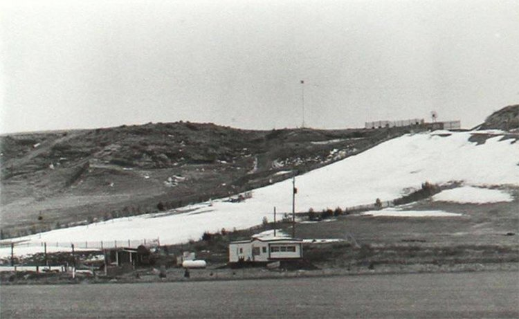 Sharktooth Ski Area and manmade snow