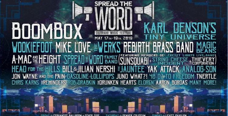 lineup music festival