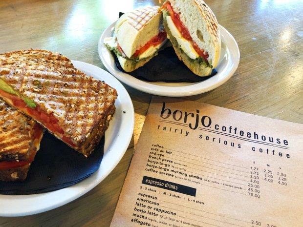 Monarch Way sandwich and menu