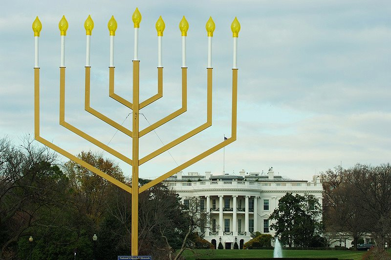 menorah at white house