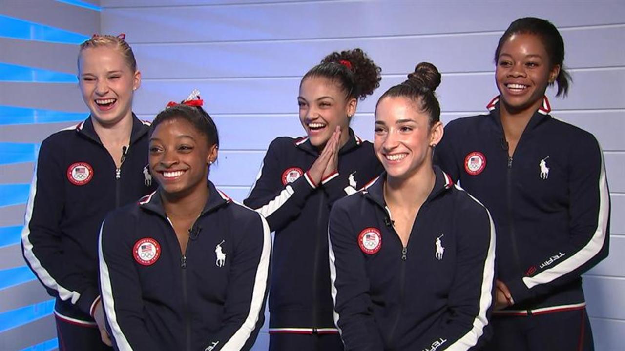 Olympian gymnasts