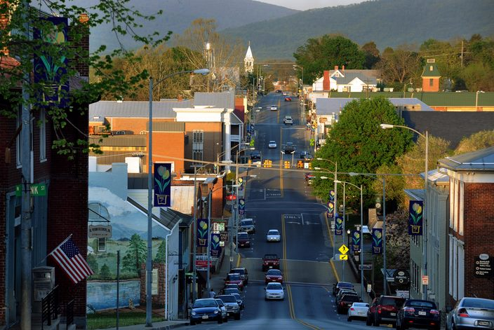 Downtown Luray, Virginia