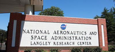 NASA Langley sign