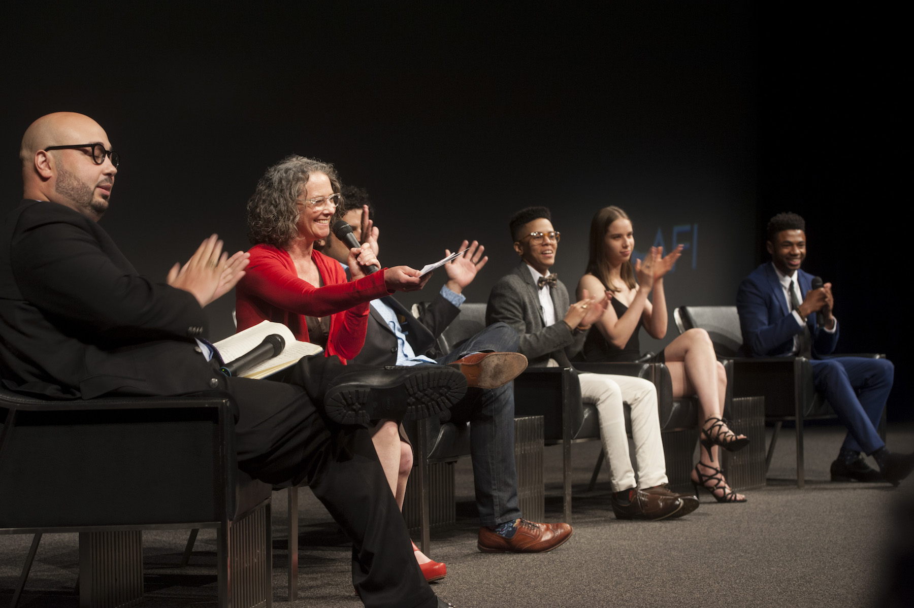 q&a panel for personal statement filmmakers