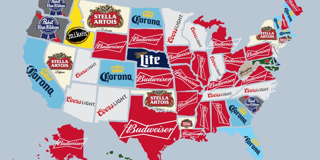 favorite beer by state