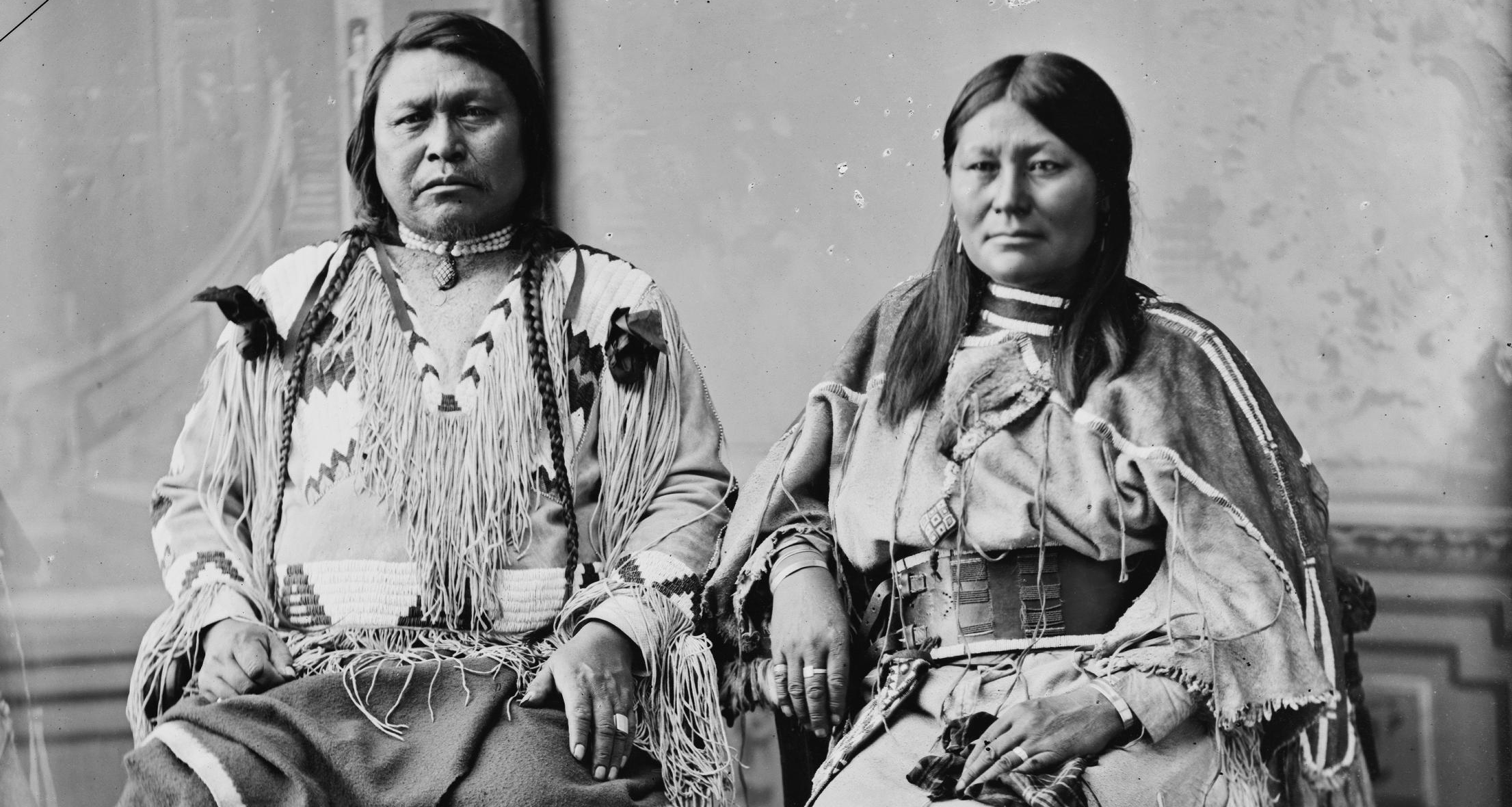 Chief Ouray and wife, Chipeta