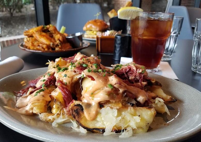 reuben fries, Joe Theismann's Restaurant