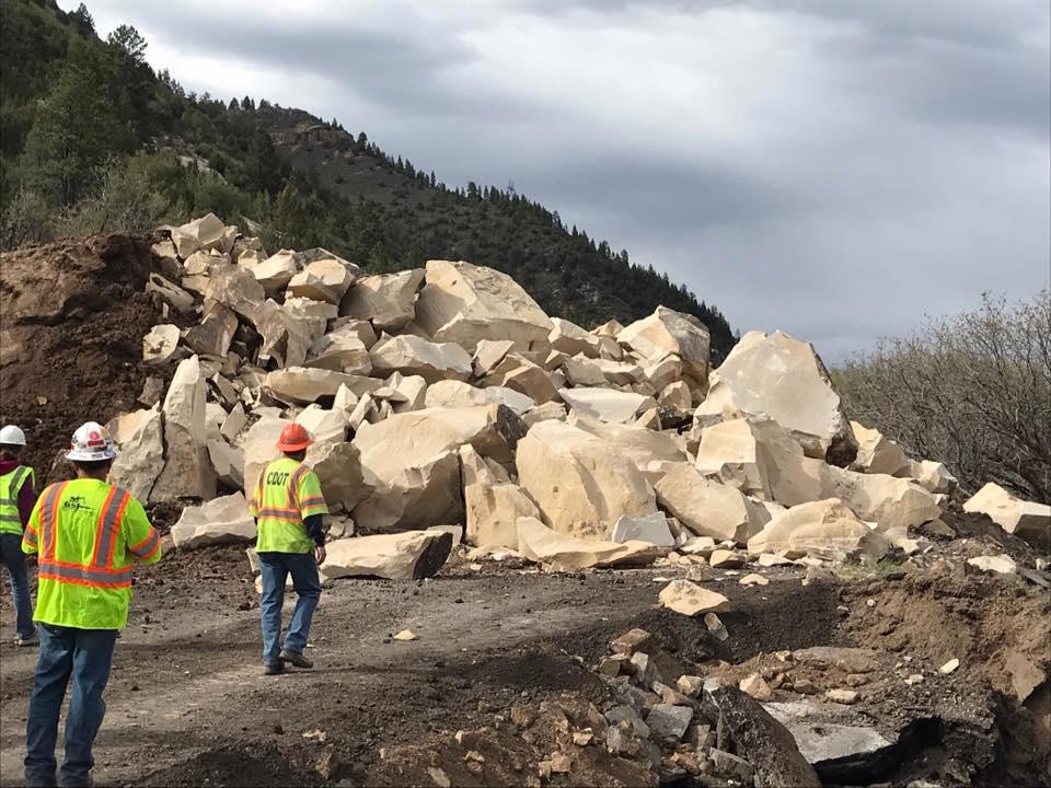 rock blast Highway 145
