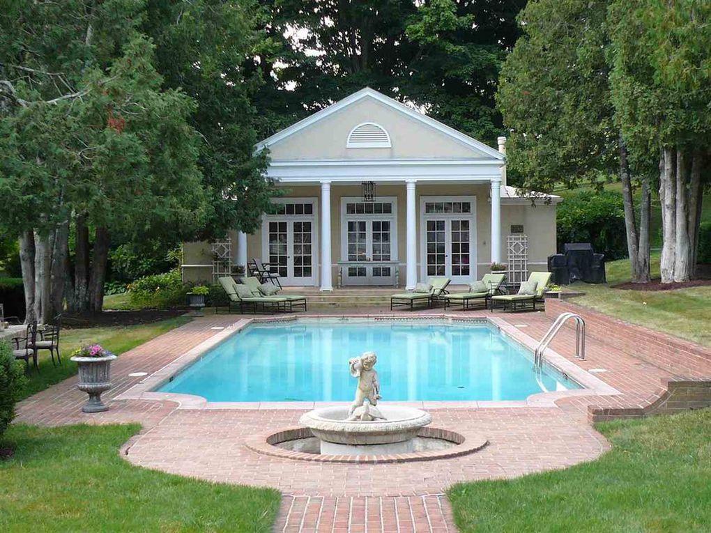 pool house, pool