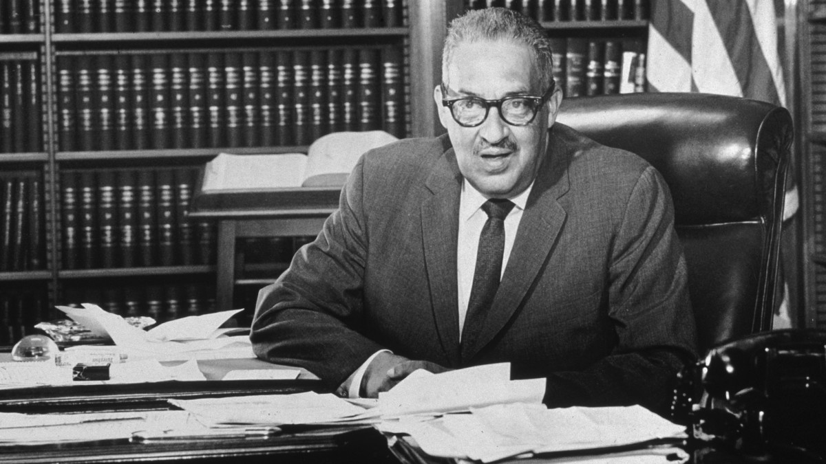 Thurgood Marshall confirmed to the Supreme Court