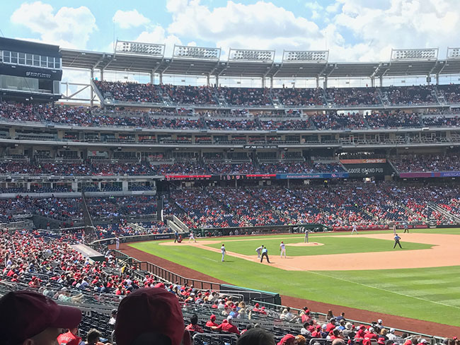 A day at Washington Nationals Park