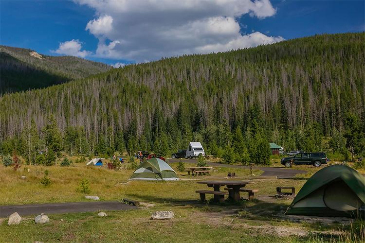 camping in rmnp
