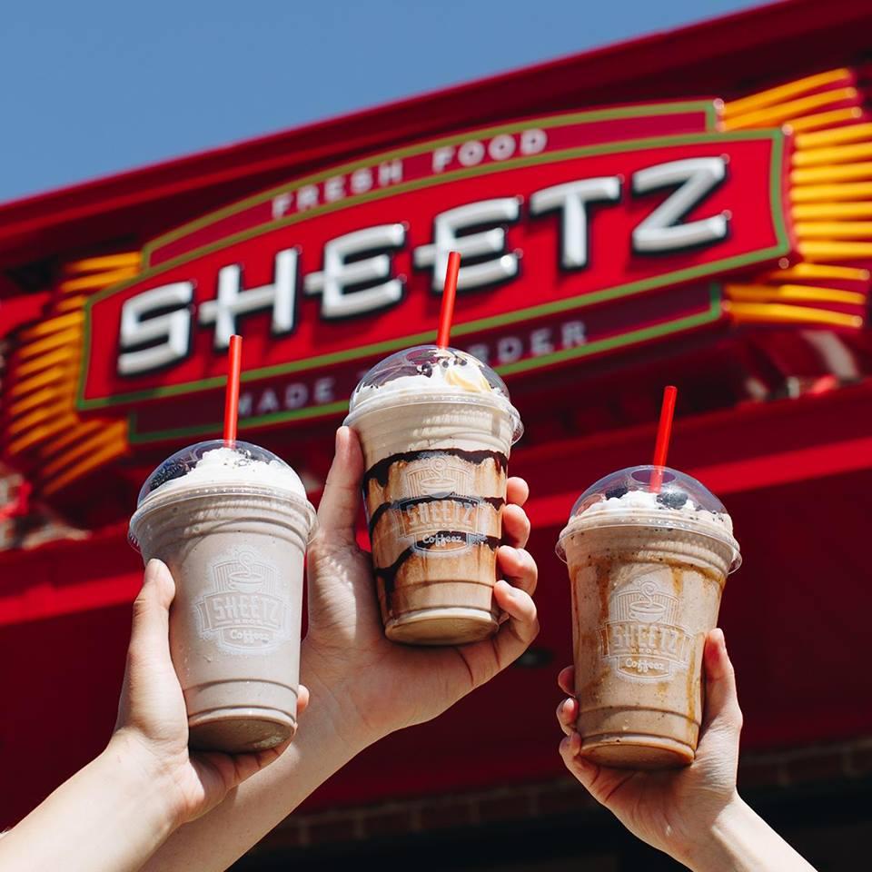 Sheetz, milkshakes