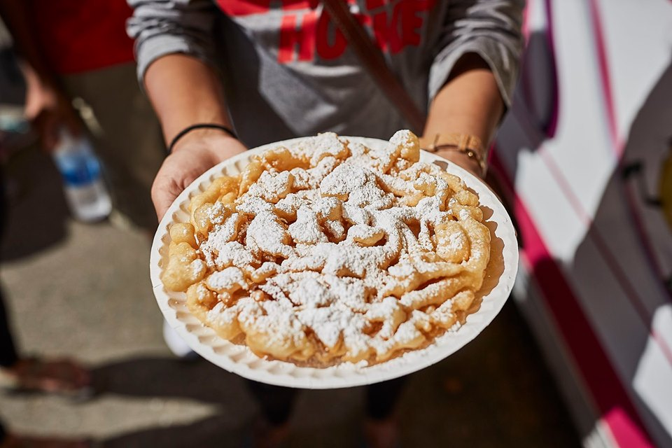 funnel cake, state fair