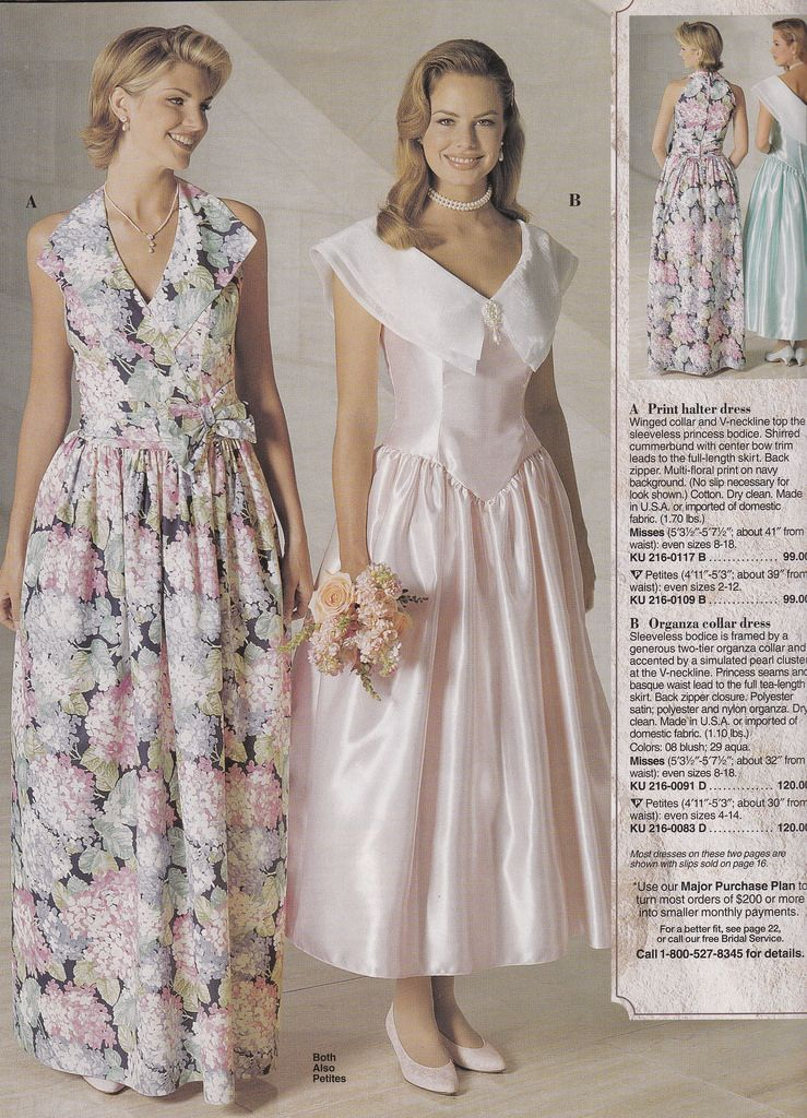 bridesmaids dresses from 1980s