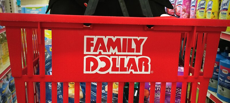 Family Dollar, basket