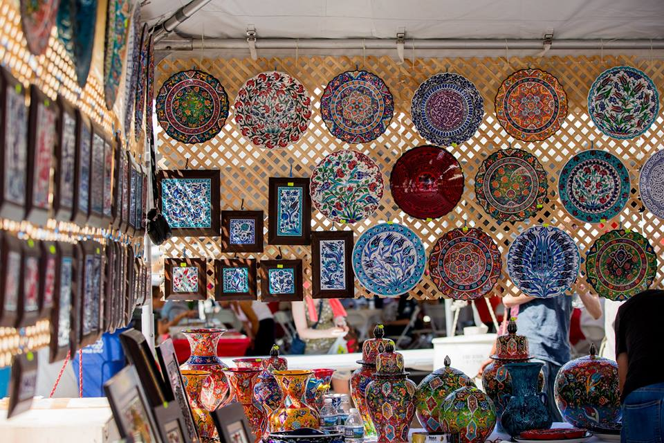Turkish crafts, booth