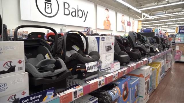 walmart baby section