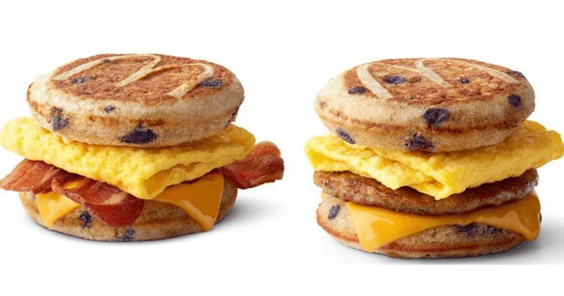 blueberry McGriddle