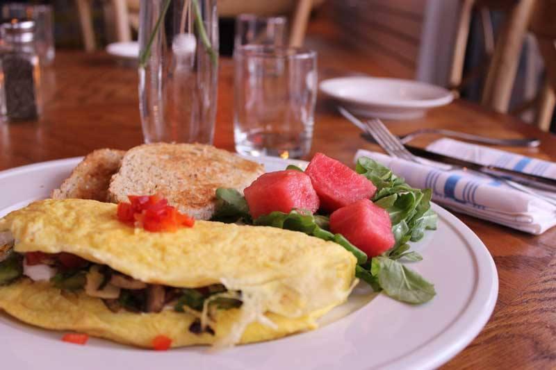 omelet from 801 restaurant