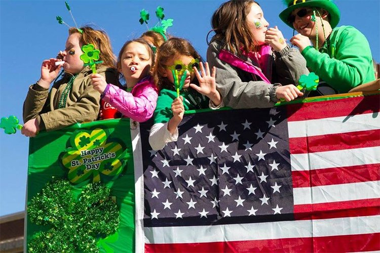 St. Patrick's Day Parade in Denver