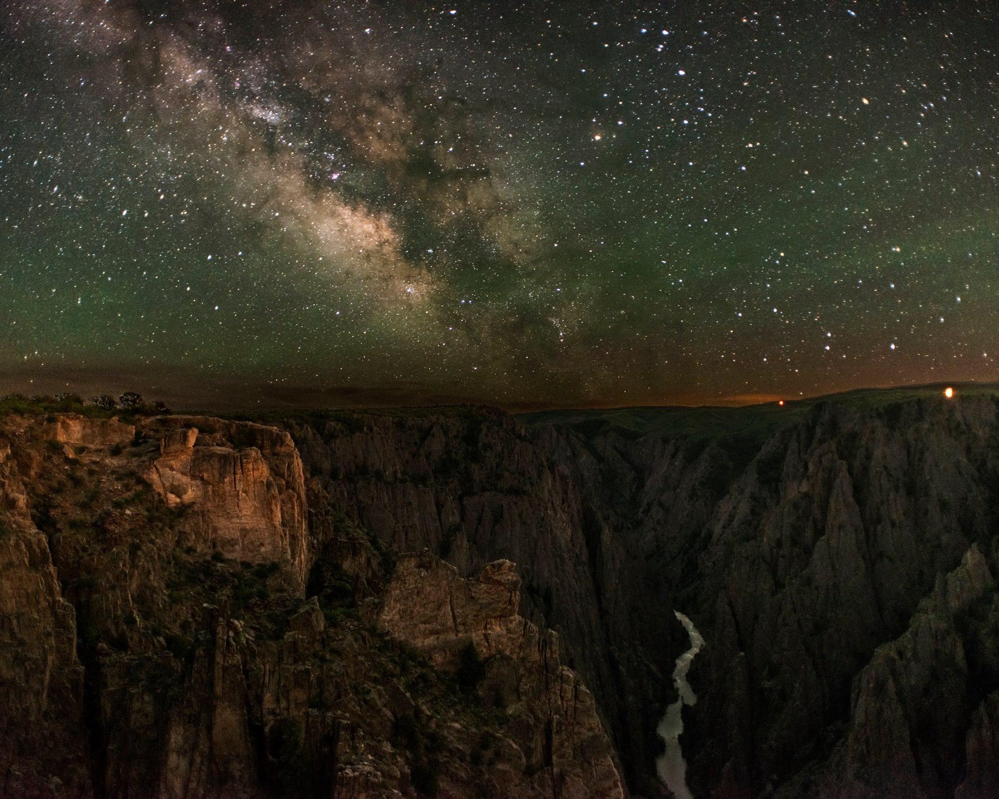 black canyon stargazing