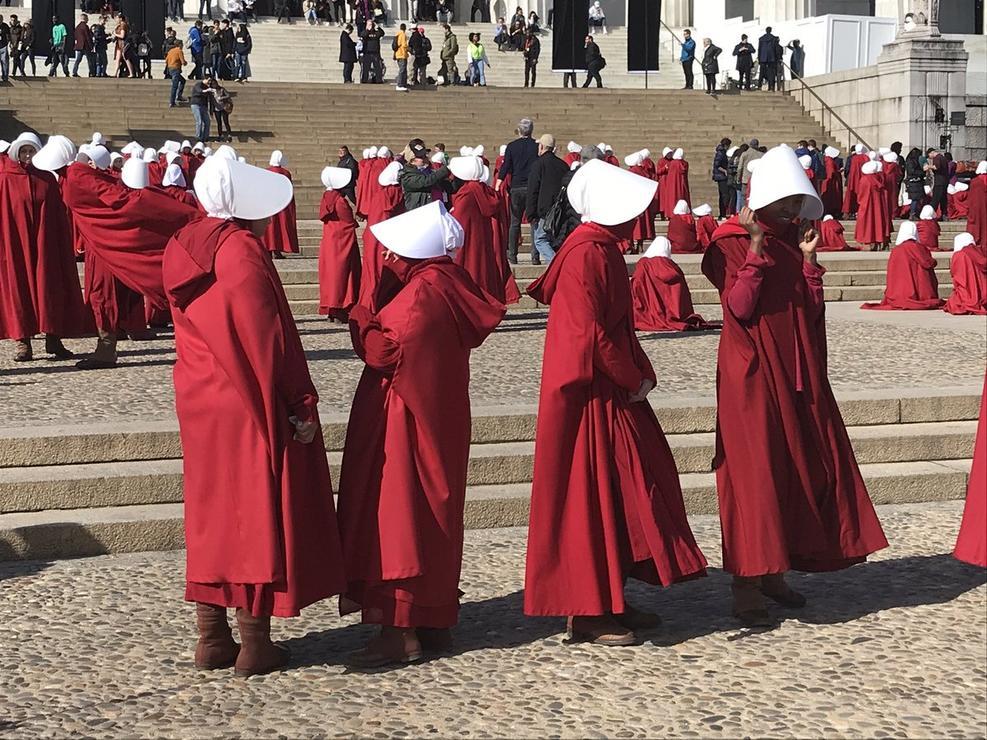 Handmaids in DC