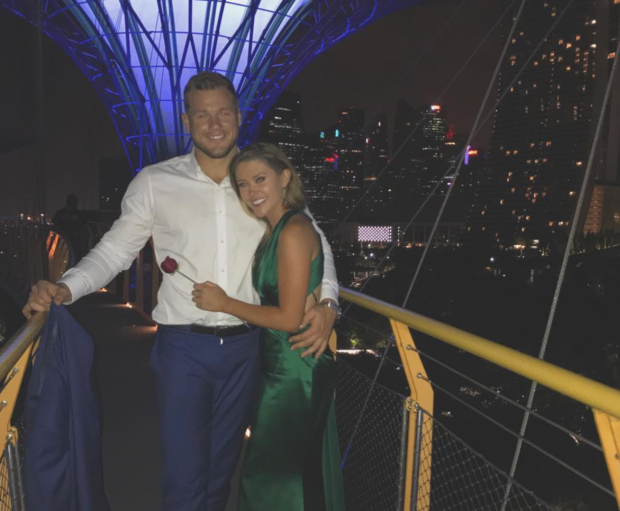 Cayelynn Miller-Keys and Colton Underwood