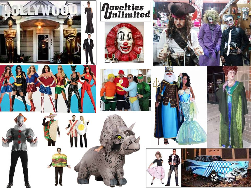 Novelties Unlimited Halloween Costume Shop Norfolk Virginia Hampton Roads