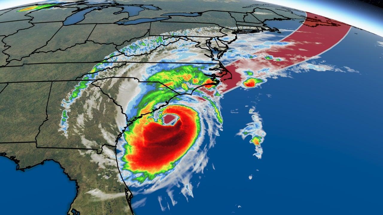 Hurricane Dorian, track