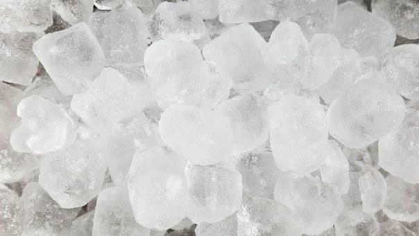 ice on burn