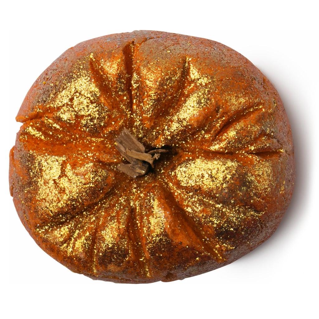 Sparkling Pumpkin LUSH bath bomb