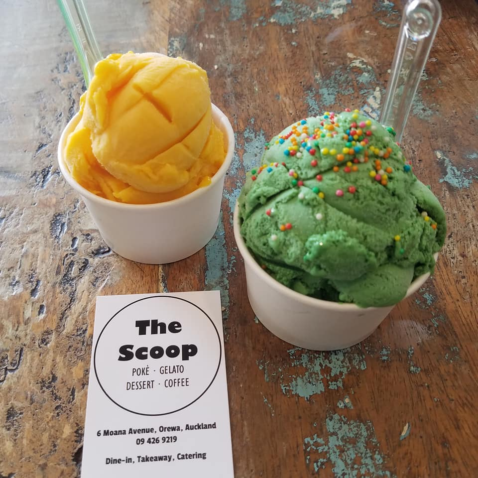 The Scoop, gelato, sorbet