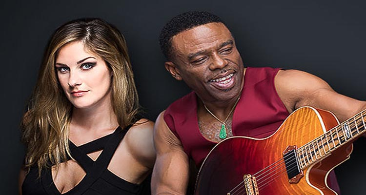 Guitarist Norman Brown performs Sunday on the Pavilion Stage with guest artist  Lindsey Webster.