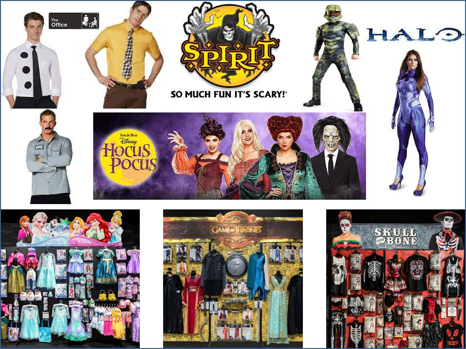 Spirit Halloween Costume Shops Hampton Roads Virginia