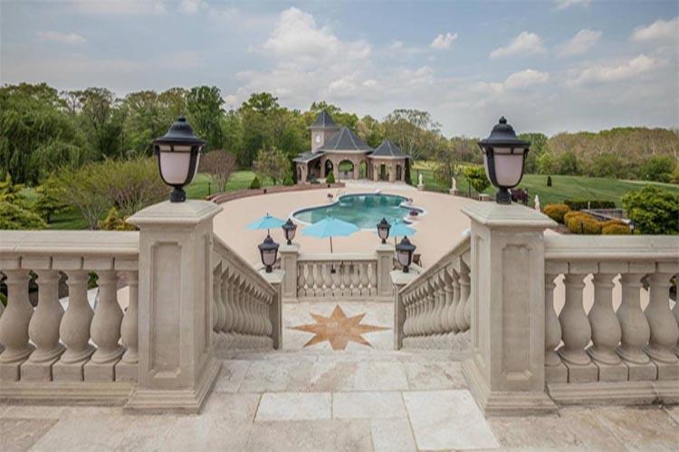 Masonwood pool and patio