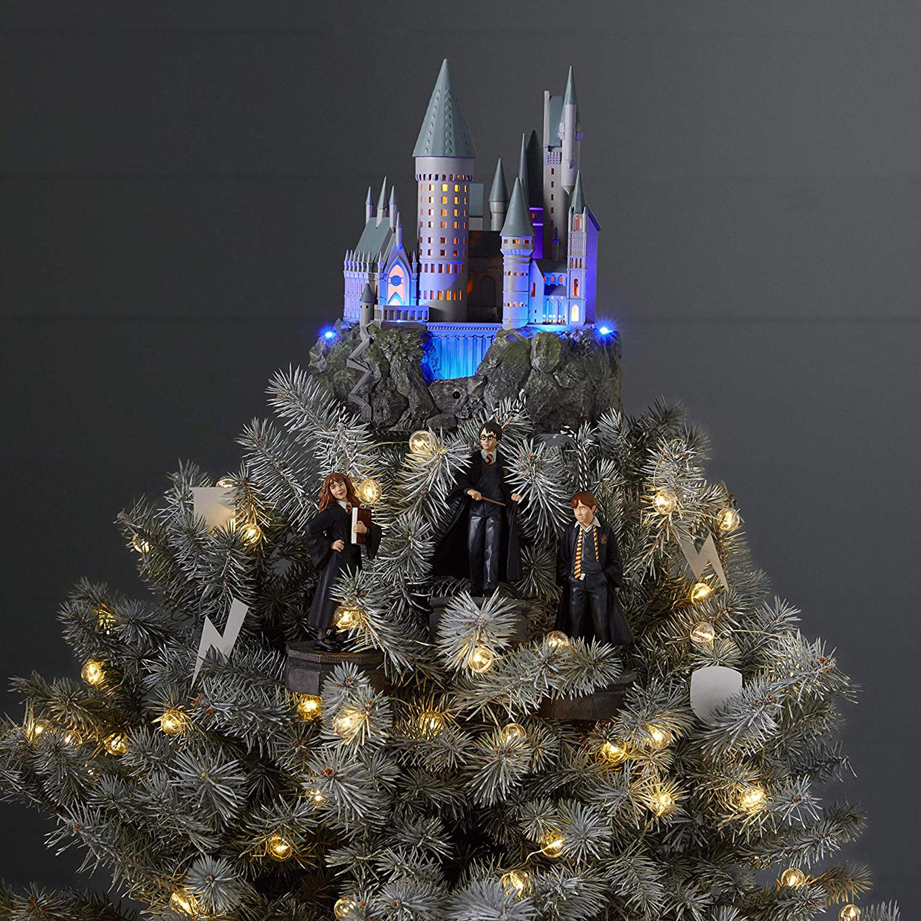 harry potter christmas decor