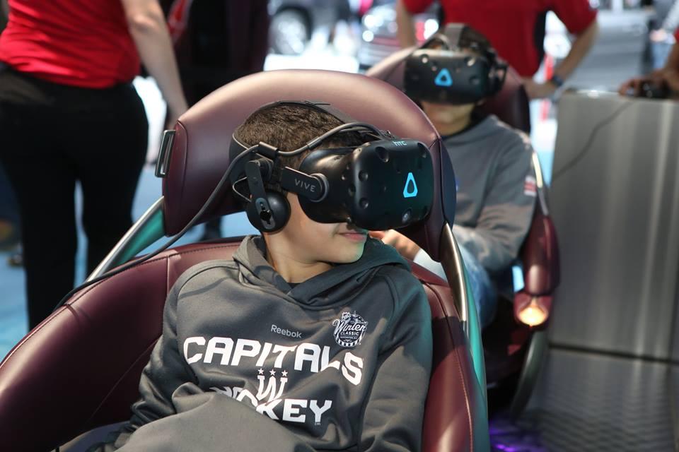 Washington Auto Show, virtual reality
