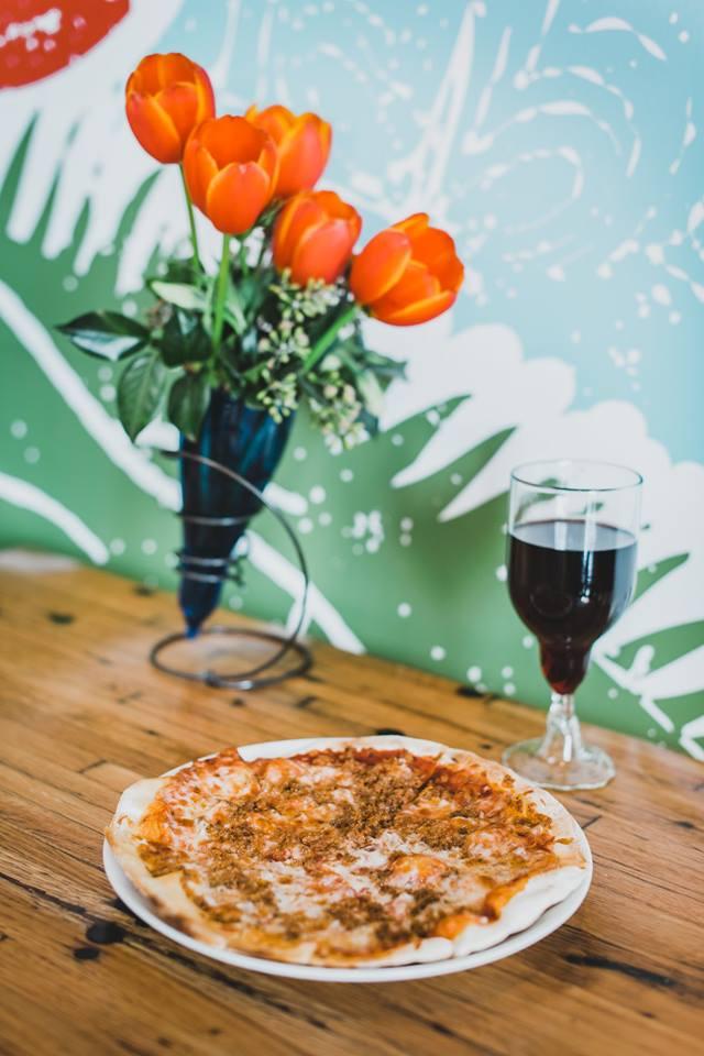 sazza happy hour pizza and wine