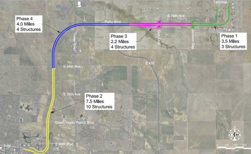 pena boulevard widening phase plan