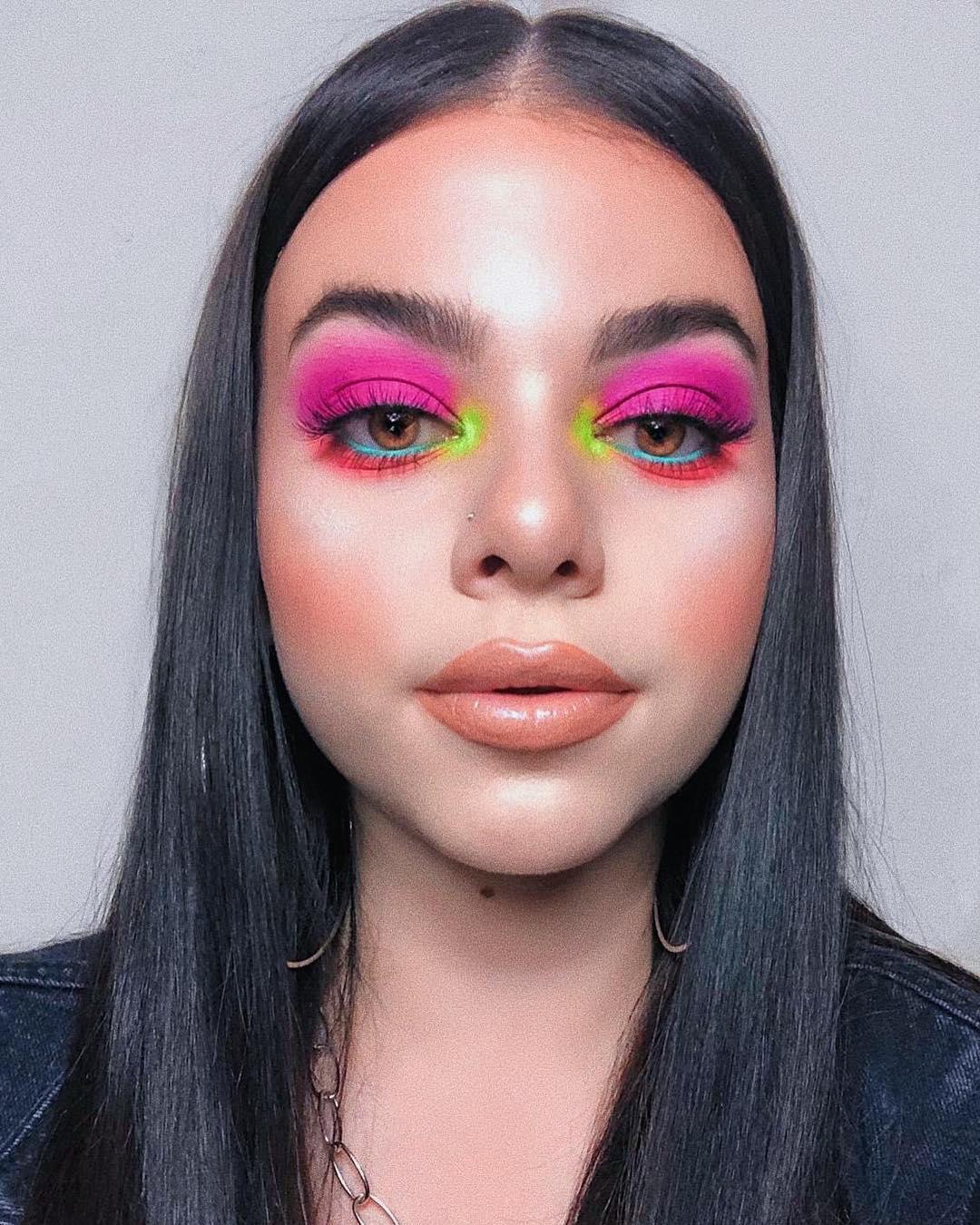 multi colored neon